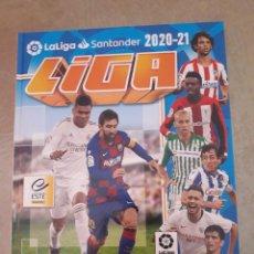 Álbum de fútbol completo: LIGA ESTE 20-21 COMPLETA EN ÁLBUM CON TAPA DURA Y EXTRAS (TODO LO EDITADO). Lote 268270999