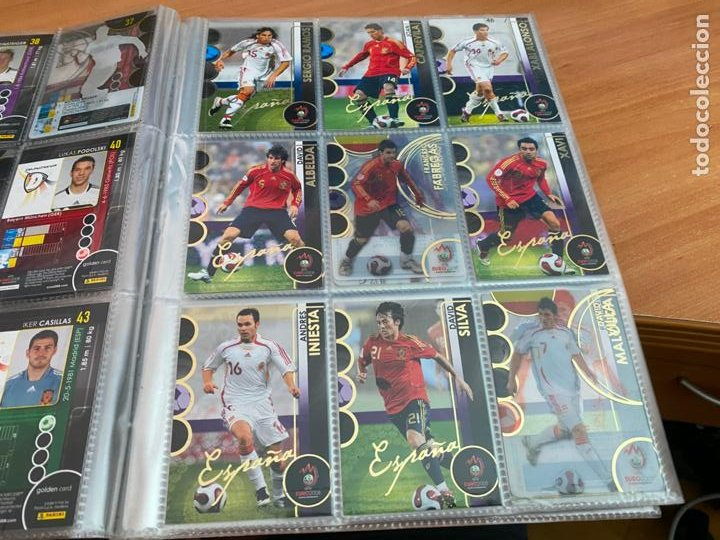 Álbum de fútbol completo: EURO 2008 COLECCION COMPLETA 195 TRADING CARDS PANINI. SIN ALBUM OFICIAL (COIB61) - Foto 6 - 269032197