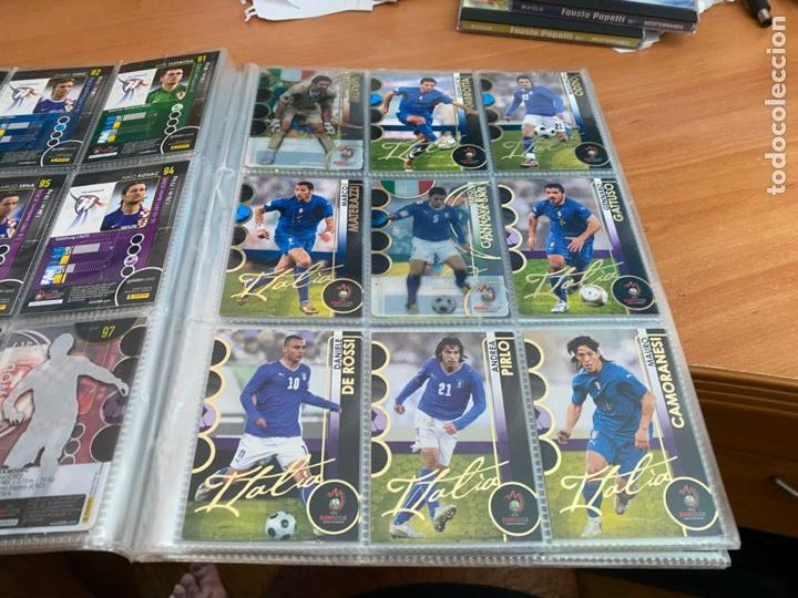 Álbum de fútbol completo: EURO 2008 COLECCION COMPLETA 195 TRADING CARDS PANINI. SIN ALBUM OFICIAL (COIB61) - Foto 12 - 269032197