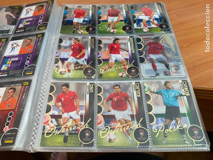 Álbum de fútbol completo: EURO 2008 COLECCION COMPLETA 195 TRADING CARDS PANINI. SIN ALBUM OFICIAL (COIB61) - Foto 15 - 269032197