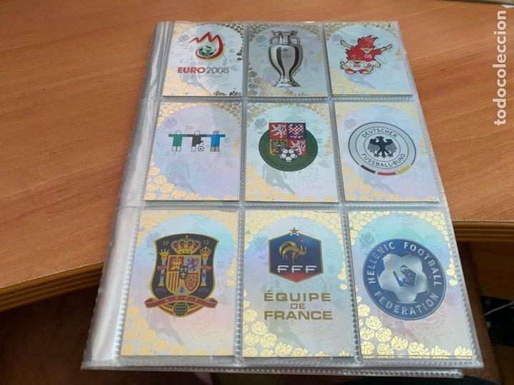 EURO 2008 COLECCION COMPLETA 195 TRADING CARDS PANINI. SIN ALBUM OFICIAL (COIB61) (Coleccionismo Deportivo - Álbumes y Cromos de Deportes - Álbumes de Fútbol Completos)