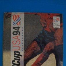 Álbum de fútbol completo: ALBUM COMPLETO DE FUTBOL MUNDIA USA 94 WORLD CUP DE UPPER DECK. Lote 269319813