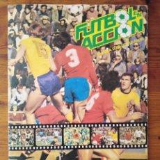 Álbum de fútbol completo: ALBUM FÚTBOL ACCIÓN. DANONE. MUNDIAL 82. COMPLETO. Lote 269341898