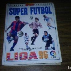Álbum de fútbol completo: MUNDICROMO 1995 1996 95 96 - COLECCIÓN COMPLETA (462 FICHAS) CON ARCHIVADOR ORIGINAL SPORT. Lote 269688443