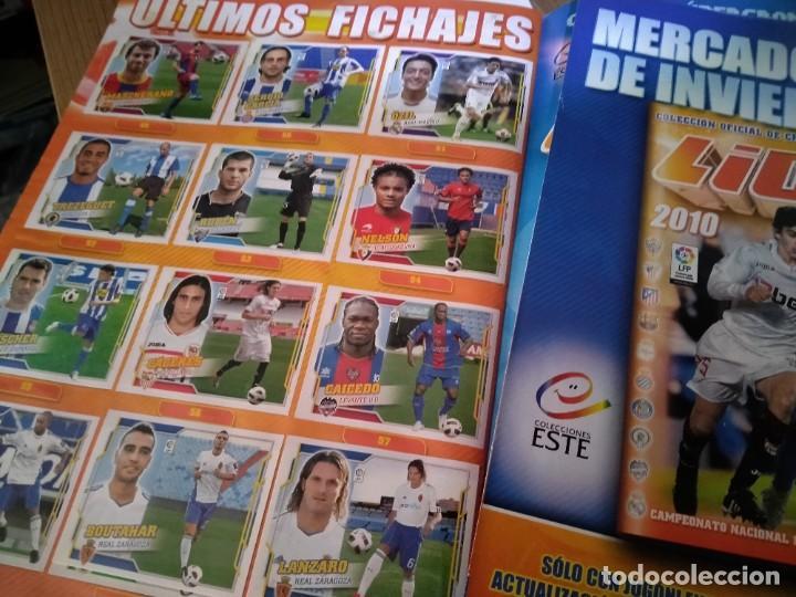 Álbum de fútbol completo: LIGA 2010 2011. COLECCION OFICIAL DE CROMOS. LIGA BBVA. CAMPEONATO NACIONAL DE LIGA 2010/2011. FUTBO - Foto 7 - 237437280