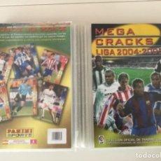 Álbum de fútbol completo: ÁLBUM MEGA CRACKS LIGA 2004-2005, PANINI, COMPLETÓ CON 502 CROMOS. Lote 269943928