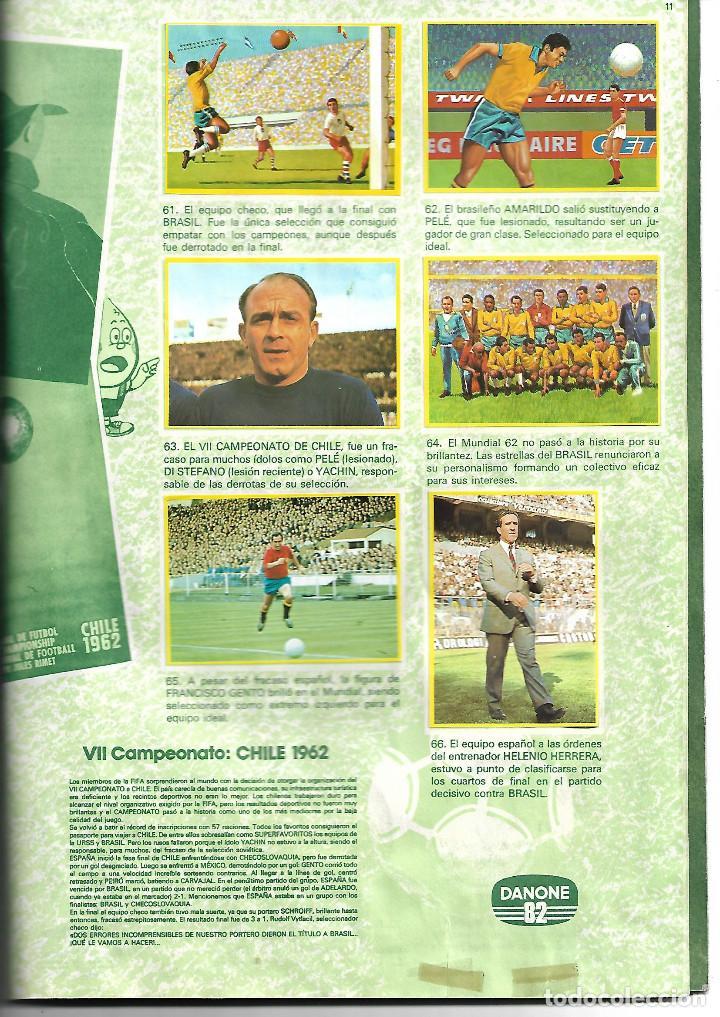 Álbum de fútbol completo: FÚTBOL EN ACCIÓN DANONE ESPAÑA 82 BUEN ESTADO 1982 COMPLETO BUEN ESTADO - Foto 3 - 221952815