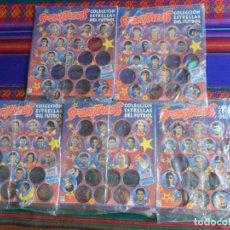 Álbum de fútbol completo: EN 5 BLISTER PRECINTADOS SPORTAZOS 1994 1995 94 95 COMPLETO 105 TAZOS. DIARIO SPORT.. Lote 270105333