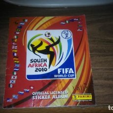 Álbum de fútbol completo: MUNDIAL SOUTH AFRICA 2010 PANINI - ALBUM COMPLETO (640 CROMOS). Lote 270141253