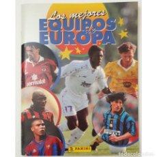 Álbum de fútbol completo: ALBUM CROMOS PANINI 1996-1997 LOS MEJORES EQUIPOS DE EUROPA 96-97 COMPLETO BUEN ESTADO. Lote 270146268