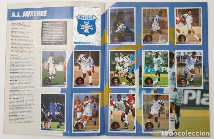 Álbum de fútbol completo: ALBUM CROMOS PANINI 1996-1997 LOS MEJORES EQUIPOS DE EUROPA 96-97 COMPLETO BUEN ESTADO - Foto 4 - 270146268