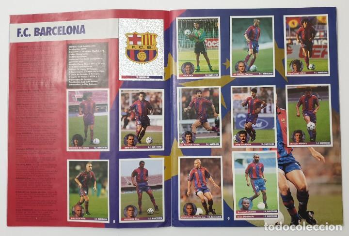 Álbum de fútbol completo: ALBUM CROMOS PANINI 1996-1997 LOS MEJORES EQUIPOS DE EUROPA 96-97 COMPLETO BUEN ESTADO - Foto 5 - 270146268