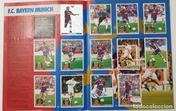 Álbum de fútbol completo: ALBUM CROMOS PANINI 1996-1997 LOS MEJORES EQUIPOS DE EUROPA 96-97 COMPLETO BUEN ESTADO - Foto 6 - 270146268