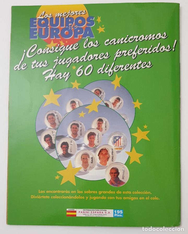 Álbum de fútbol completo: ALBUM CROMOS PANINI 1996-1997 LOS MEJORES EQUIPOS DE EUROPA 96-97 COMPLETO BUEN ESTADO - Foto 10 - 270146268