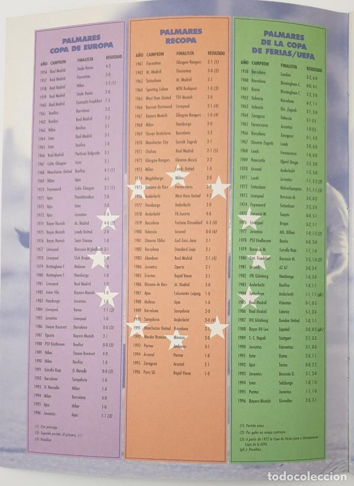 Álbum de fútbol completo: ALBUM CROMOS PANINI 1996-1997 LOS MEJORES EQUIPOS DE EUROPA 96-97 COMPLETO BUEN ESTADO - Foto 11 - 270146268