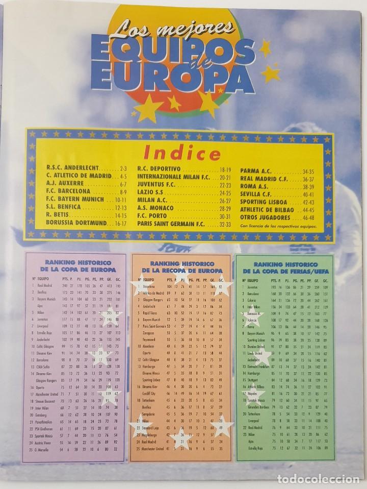 Álbum de fútbol completo: ALBUM CROMOS PANINI 1996-1997 LOS MEJORES EQUIPOS DE EUROPA 96-97 COMPLETO BUEN ESTADO - Foto 12 - 270146268