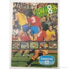 Álbum de fútbol completo: ALBUM COMPLETO DANONE 82 FUTBOL EN ACCION MUNDIAL ESPAÑA 1982 COLECCION COMPLETA DE 96 CROMOS. Lote 270161578