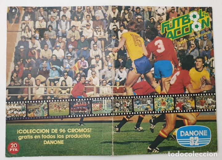 Álbum de fútbol completo: ALBUM COMPLETO DANONE 82 FUTBOL EN ACCION MUNDIAL ESPAÑA 1982 COLECCION COMPLETA DE 96 CROMOS - Foto 2 - 270161578