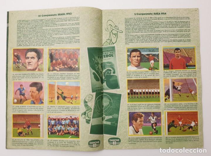 Álbum de fútbol completo: ALBUM COMPLETO DANONE 82 FUTBOL EN ACCION MUNDIAL ESPAÑA 1982 COLECCION COMPLETA DE 96 CROMOS - Foto 4 - 270161578