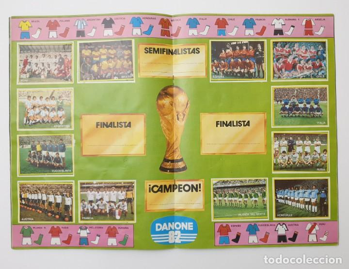 Álbum de fútbol completo: ALBUM COMPLETO DANONE 82 FUTBOL EN ACCION MUNDIAL ESPAÑA 1982 COLECCION COMPLETA DE 96 CROMOS - Foto 5 - 270161578