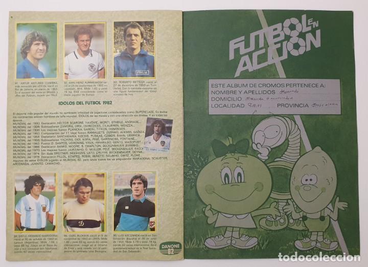 Álbum de fútbol completo: ALBUM COMPLETO DANONE 82 FUTBOL EN ACCION MUNDIAL ESPAÑA 1982 COLECCION COMPLETA DE 96 CROMOS - Foto 6 - 270161578