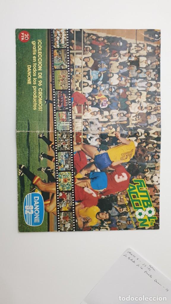 Álbum de fútbol completo: ALBUM COMPLETO DANONE 82 FUTBOL EN ACCION MUNDIAL ESPAÑA 1982 COLECCION COMPLETA DE 96 CROMOS - Foto 7 - 270161578