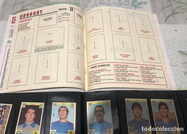 Álbum de fútbol completo: MEXICO 70 Panini Italiano Set a pegar + Álbum vacio - Foto 2 - 270171253