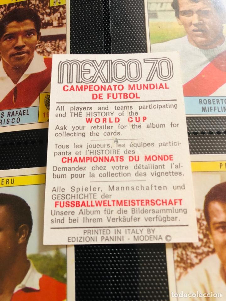 Álbum de fútbol completo: MEXICO 70 Panini Italiano Set a pegar + Álbum vacio - Foto 7 - 270171253