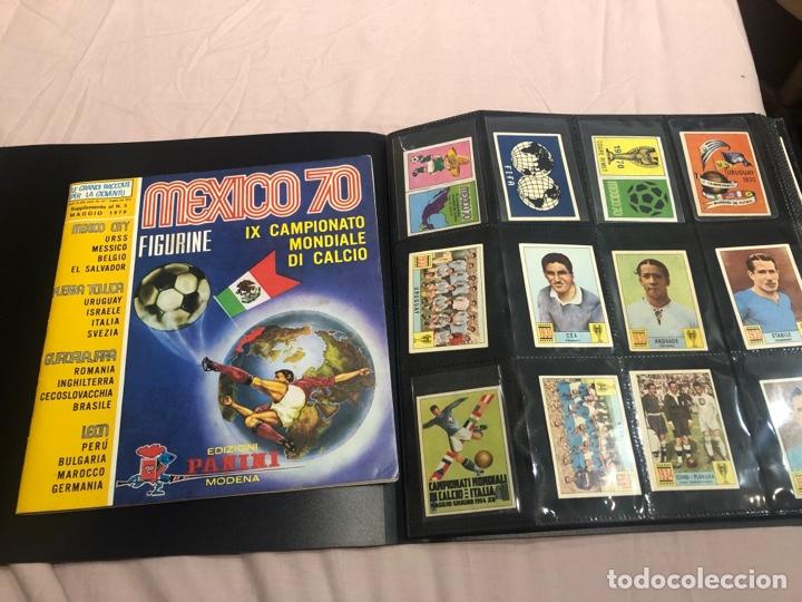 MEXICO 70 PANINI ITALIANO SET A PEGAR + ÁLBUM VACIO (Coleccionismo Deportivo - Álbumes y Cromos de Deportes - Álbumes de Fútbol Completos)
