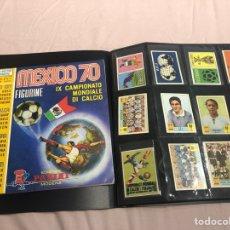 Álbum de fútbol completo: MEXICO 70 PANINI ITALIANO SET A PEGAR + ÁLBUM VACIO. Lote 270171253