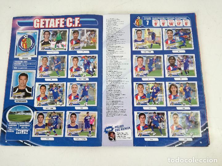 Álbum de fútbol completo: Album de fútbol con cromos, Liga 2010-11, Colecciones Este, colocas, completo, todos fotografiados - Foto 3 - 270176558