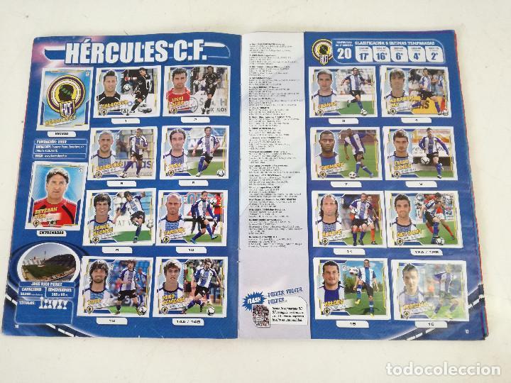Álbum de fútbol completo: Album de fútbol con cromos, Liga 2010-11, Colecciones Este, colocas, completo, todos fotografiados - Foto 4 - 270176558
