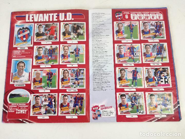 Álbum de fútbol completo: Album de fútbol con cromos, Liga 2010-11, Colecciones Este, colocas, completo, todos fotografiados - Foto 5 - 270176558