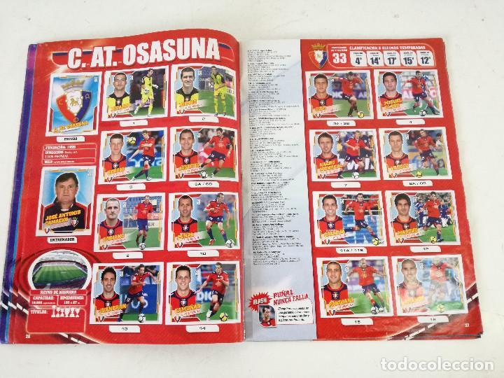 Álbum de fútbol completo: Album de fútbol con cromos, Liga 2010-11, Colecciones Este, colocas, completo, todos fotografiados - Foto 9 - 270176558