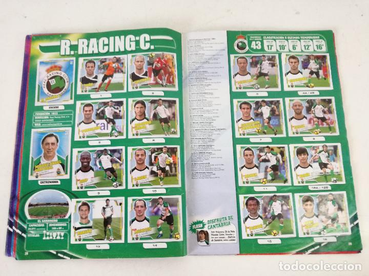 Álbum de fútbol completo: Album de fútbol con cromos, Liga 2010-11, Colecciones Este, colocas, completo, todos fotografiados - Foto 10 - 270176558