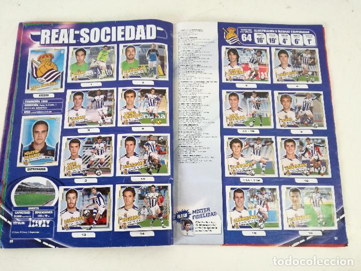 Álbum de fútbol completo: Album de fútbol con cromos, Liga 2010-11, Colecciones Este, colocas, completo, todos fotografiados - Foto 11 - 270176558