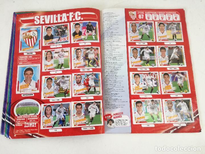 Álbum de fútbol completo: Album de fútbol con cromos, Liga 2010-11, Colecciones Este, colocas, completo, todos fotografiados - Foto 12 - 270176558