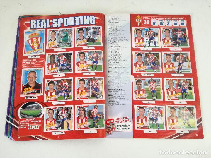 Álbum de fútbol completo: Album de fútbol con cromos, Liga 2010-11, Colecciones Este, colocas, completo, todos fotografiados - Foto 13 - 270176558