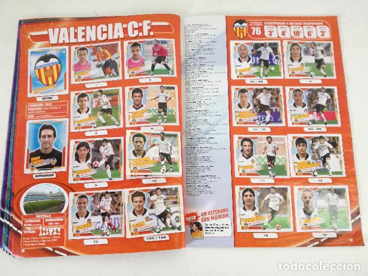 Álbum de fútbol completo: Album de fútbol con cromos, Liga 2010-11, Colecciones Este, colocas, completo, todos fotografiados - Foto 14 - 270176558