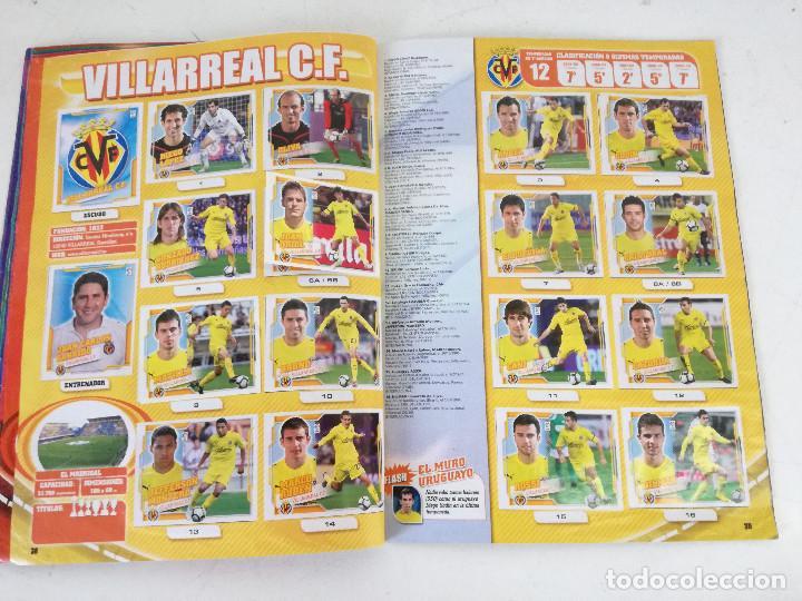 Álbum de fútbol completo: Album de fútbol con cromos, Liga 2010-11, Colecciones Este, colocas, completo, todos fotografiados - Foto 15 - 270176558