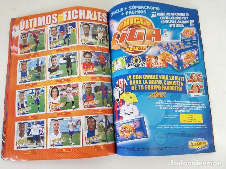 Álbum de fútbol completo: Album de fútbol con cromos, Liga 2010-11, Colecciones Este, colocas, completo, todos fotografiados - Foto 20 - 270176558