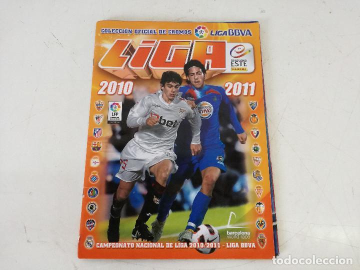 Álbum de fútbol completo: Album de fútbol con cromos, Liga 2010-11, Colecciones Este, colocas, completo, todos fotografiados - Foto 26 - 270176558