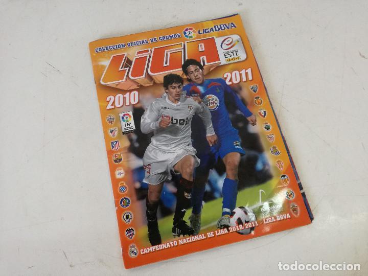 Álbum de fútbol completo: Album de fútbol con cromos, Liga 2010-11, Colecciones Este, colocas, completo, todos fotografiados - Foto 27 - 270176558