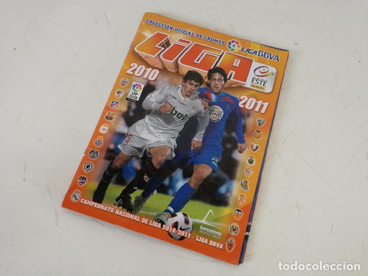 Álbum de fútbol completo: Album de fútbol con cromos, Liga 2010-11, Colecciones Este, colocas, completo, todos fotografiados - Foto 28 - 270176558