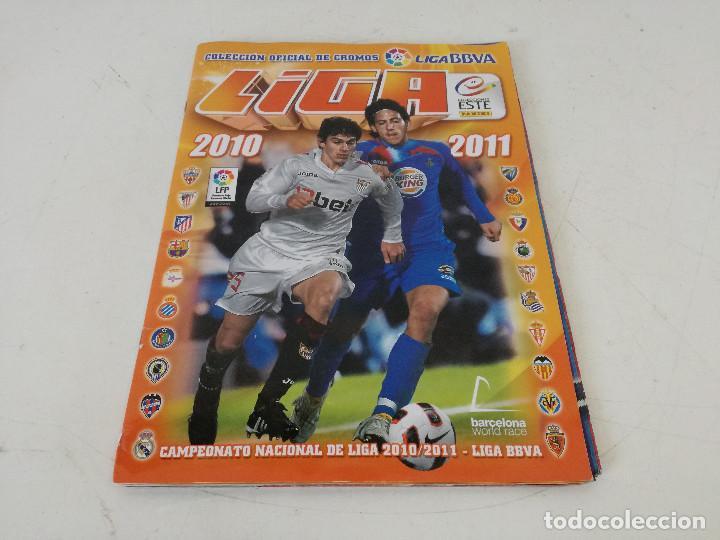Álbum de fútbol completo: Album de fútbol con cromos, Liga 2010-11, Colecciones Este, colocas, completo, todos fotografiados - Foto 29 - 270176558