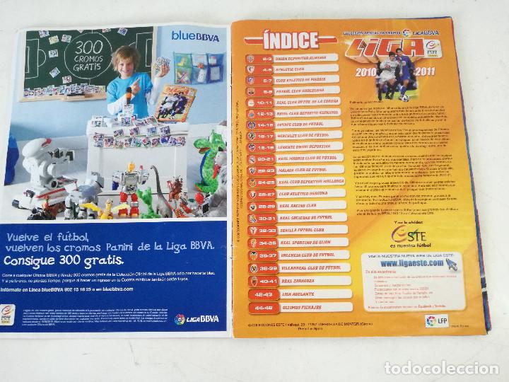 Álbum de fútbol completo: Album de fútbol con cromos, Liga 2010-11, Colecciones Este, colocas, completo, todos fotografiados - Foto 31 - 270176558