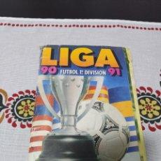 Álbum de fútbol completo: ÁLBUM ESTE 90 91 COMPLETO (A FALTA DEL FICHAJE 29). Lote 270185723