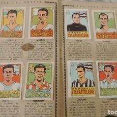 Álbum de fútbol completo: ÁLBUM SEXTO, CROMOS CULTURA (FUTBOL - CICLISMO) - EDITORIAL BRUGUERA - AÑO 1941 - COMPLETO Y CON UN. Lote 272575408