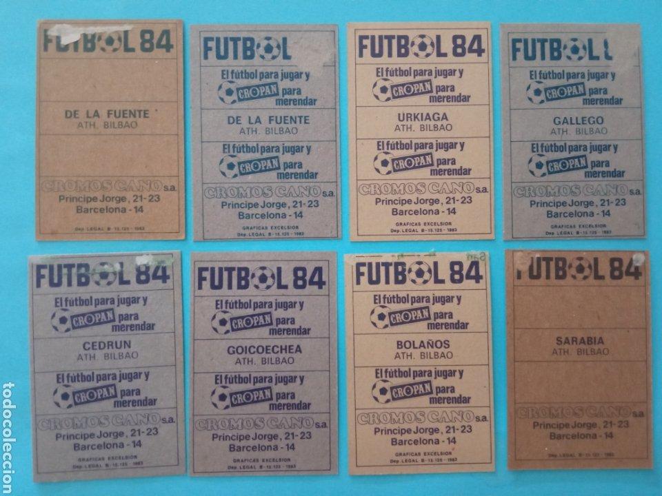 Álbum de fútbol completo: CANO FÚTBOL 84 REPLETO 447 CROMOS, DOBLES,TRIPLES,ESCUDOS,RAREZAS,ETC. - Foto 6 - 272580568