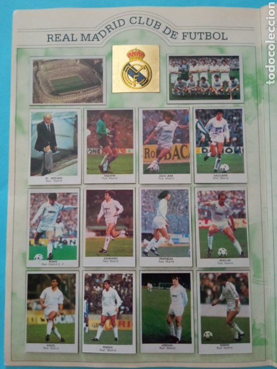 Álbum de fútbol completo: CANO FÚTBOL 84 REPLETO 447 CROMOS, DOBLES,TRIPLES,ESCUDOS,RAREZAS,ETC. - Foto 7 - 272580568